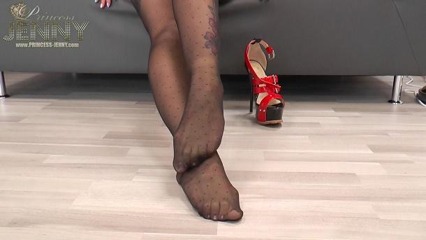 heels nylons nylons riechen